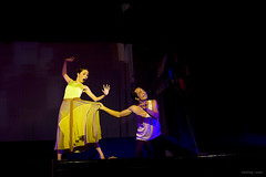 Loving game (-clicking-) Tags: lighting light portrait dance dancing theatre vietnam 2470mm canoneos50d ma namcao thn chipho