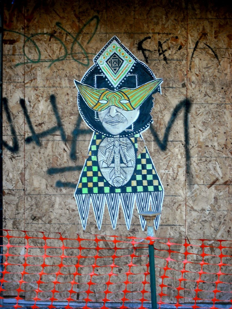 Wheatpaste Street Art San Francisco.