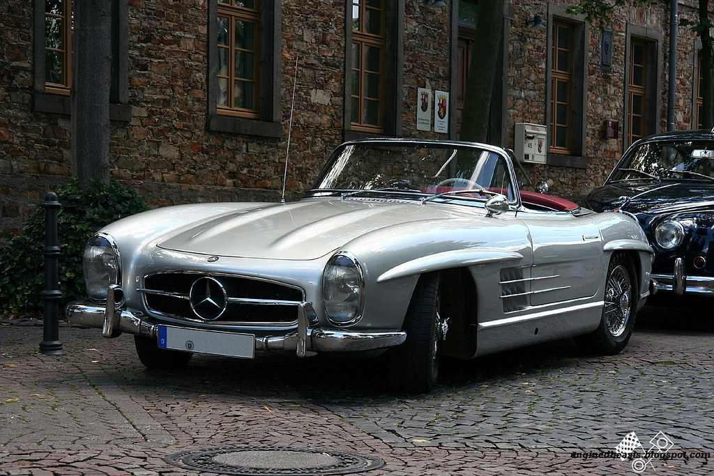 Mercedes-Benz SL 300 roadster 01