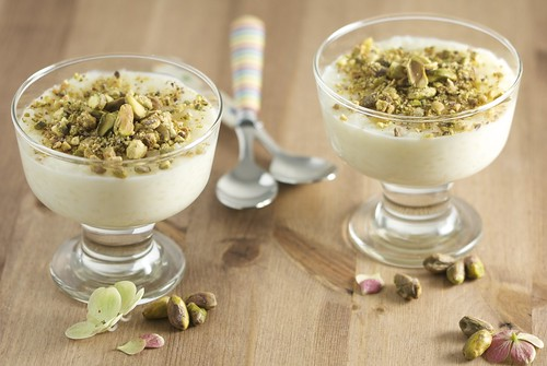 3984648403 34d6154e1d Beirut & Riz Bi Haleeb  Rice Pudding with Mastic & Orange Flower Blossom