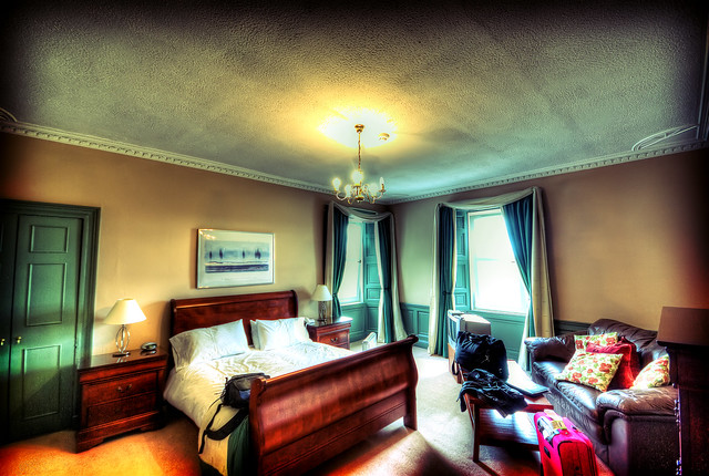 My room at Bonsyde House Hotel - Linlithgow