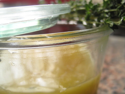 Lemon thyme curd