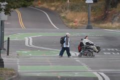Bikeway through the Rose Quarter-200