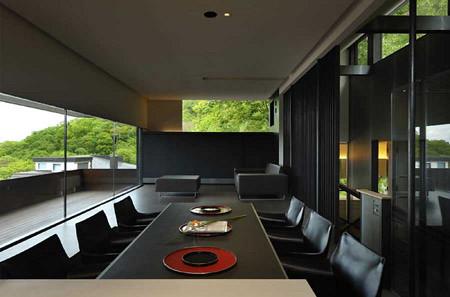 Japan Modern Architecture - diningroom, House Design, Architecture, Japanese House Design, Modern House Design, Interior design