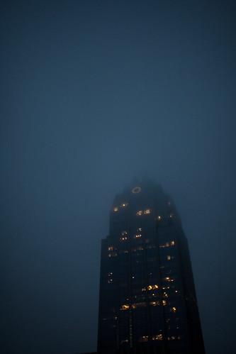 Austin Skyline frost bank tower