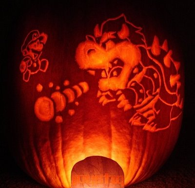 calabaza mario vs bowser
