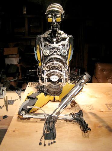 Sculptor Jeremy Mayer