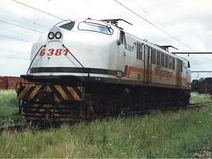 FPM271 Locomotiva Fepasa 6381 (Fernando Picarelli Martins) Tags: locomotive fepasa locomotiva electriclocomotive ferrovias cpef companhiapaulistadeestradasdeferro locomotivaelétrica classe2cc2 1947primeiraviagem fepasaferroviapaulistasa fepasanº6381