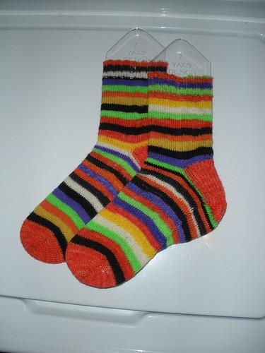 Wee Skein Halloween Socks