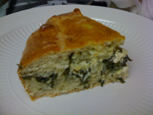 A Slice of Chard and Fennel Pie