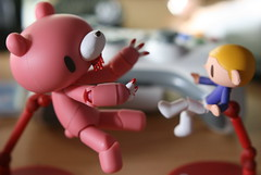 'I know kung-fu'  'Show me' (Sakura.Designs) Tags: boy matrix gloomy revoltech