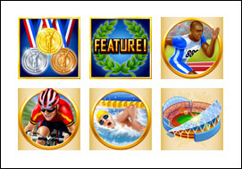free Medal Tally slot game symbols
