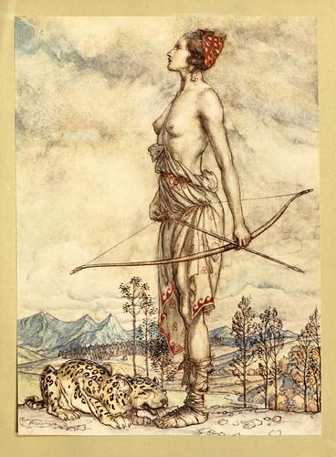 002-Comus de John Milton-ilustrada por Rackham 1921