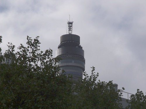 BT Tower from Euston Road, London