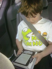 My little #kindle stealer