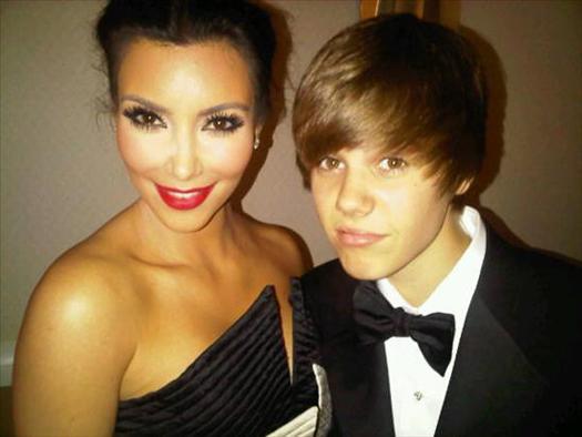 Justin-Bieber-Kim-Kardashian