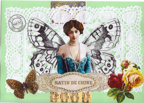 365/6 - Satin de Chine by Andrea - Mil Pontinhos