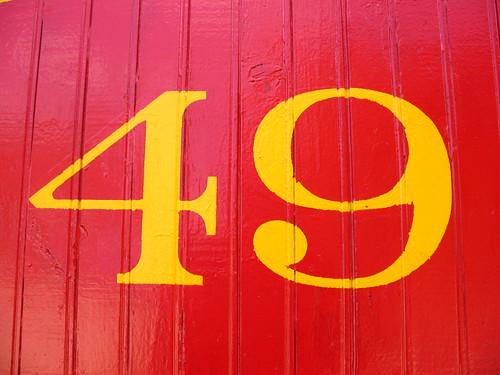 Denver & Rio Grande caboose, #49
