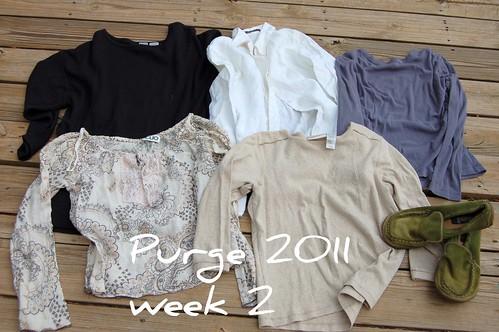 week 2 purge