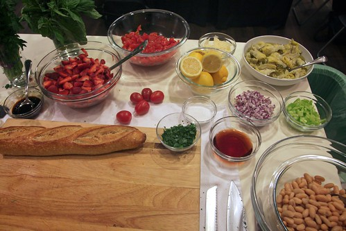 bruschetta toppings