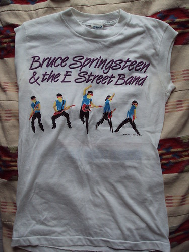 Vintage Bruce Springsteen Tour Top