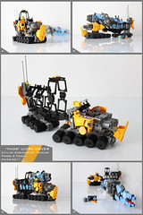 'Thor' Ultra-Mover (Pierre E Fieschi) Tags: truck giant lego crane pierre space rover micro vehicle spaceship fi trailer heavy ultra cruiser carrier sci mover microspace fieschi microscale microspacetopia