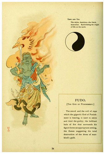 005-El dios del castigo-Mythological Japan  the symbolisms of mythology in relation to Japanese art (1902)- Francis Alexander Otto