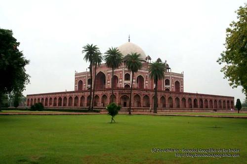 Tumba de Humayun en Delhi