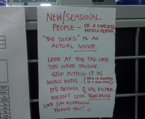 New/Seasonal people- or a careless media person,