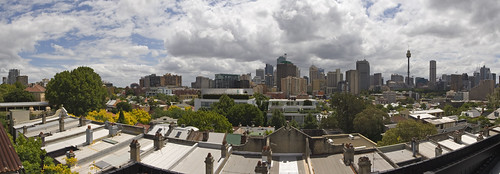 View from a Darlinghurst roof