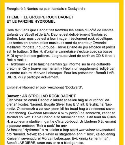 Daonet sur France 3