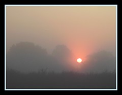 Sunrise 005 (m00nscape) Tags: morning sun mist nature sunshine sunrise haze hazy simple atmospheric bad morning morning mist poor misty composition m00nscape