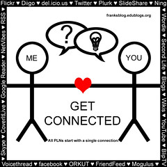 Get Connected! (The Fanboy) Tags: social web20 teacher network connected networked pln connectivism ple c009 cck08