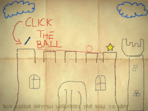 クレヨンで描いたものが物体化していくゲーム『Crayon Physics』 - IDEA*IDEA ~ 百式管理人のライフハックブログ ~