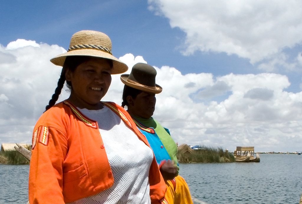 Uros Islands - Local Ladies