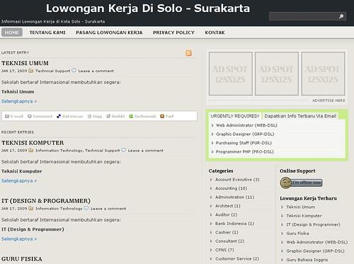 Situs LowonganKerja.DiSolo.com