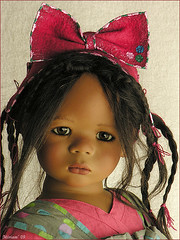 My Leleti has arrived !! (MiriamBJDolls) Tags: doll vinyl 2008 limitededition annettehimstedt clubdoll leleti himstedtkinder