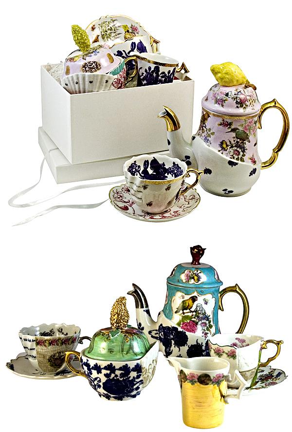 cibone patchwork tea service