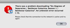 iTunes Store fail