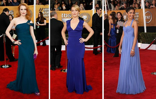 true blue SAG awards