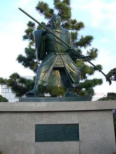 弁慶像/Statue of Benkei