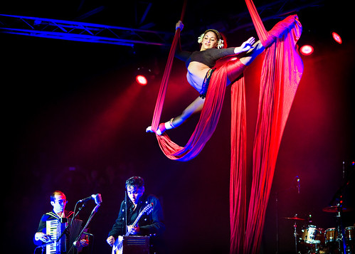 DeVotchKa's aerial dancer