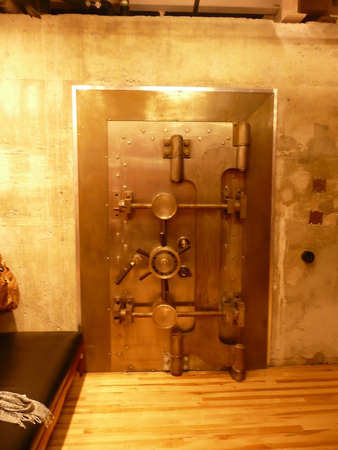 Urban Outfitters Bank Vault Changeroom