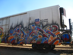 Knistto (VDub (o\I/o)) Tags: boxcars reefer freights armn knistt gtl benching knistto