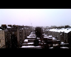 View from the Mews (Feb 12th, 43/365) (Hankinshaw) Tags: snow aberdeen camerabag iphone