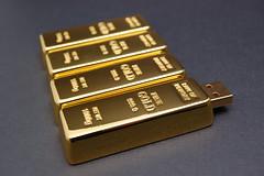 Gold Brick Custom USB Drives