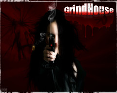 We Got GrindHouse (Poe Tatum) Tags: girls red hk house sex night photoshop movie blood pretty action smoke shell mirrors crack cal laser movies late guns 40 sight bleeding grind poe shatter cracked usp eject violent bmovie cs4 arsenel grindhouse hecklerkoch