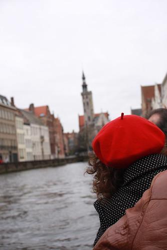 Vermelho em Bruges