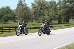 Motorcycle along Ayers Road - Brooksville, Florida