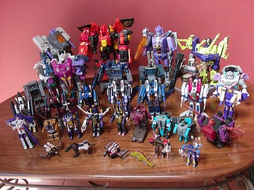 Mi Colección de Transformers (10-Abr-2009) - Decepticons G1